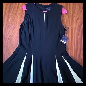 💕Just...Taylor Pleated dress NWT 💕
